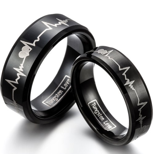 of beautiful with rings guy engagement awesome wedding unique bands mens black and