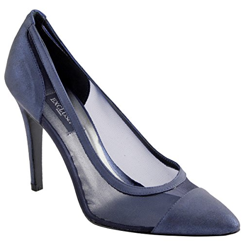 Exclusif Paris Women's Court Shoes Blue TUr4yDPDD