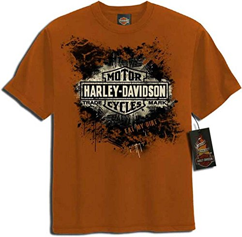 Harley Davidson Shield Splatter T shirt