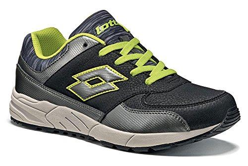 Lotto - Zapatillas de tenis para niño Schwarz (BLACK/TITAN GRAVITY)