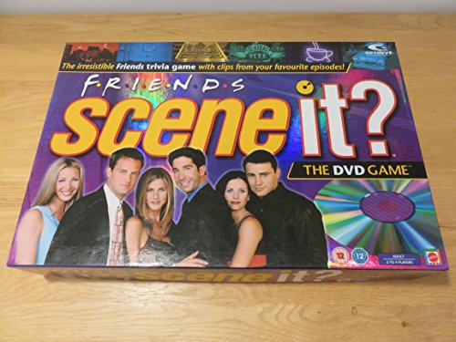 Scene It? Friends Edition DVD Board Game - Dvd Tv Game Shopping Results