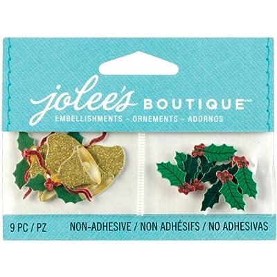 Jolee's Boutique Scrapbooking Embellishments, Mini Jingle Bells