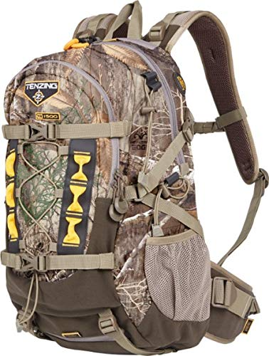 (Tenzing TNZBP1001 TC 1500 The Choice Day Pack Hunting Backpacks, Realtree Edge Frame)