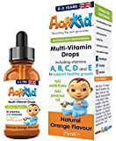 ActiKid Multi-Vitamin Drops 25ml, Gelatine free (vitamin drops for babies, infants and children)