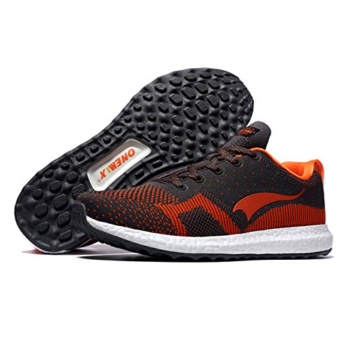 Onemix Zapatillas de Running para Asfalto para Hombre Naranja / Grado