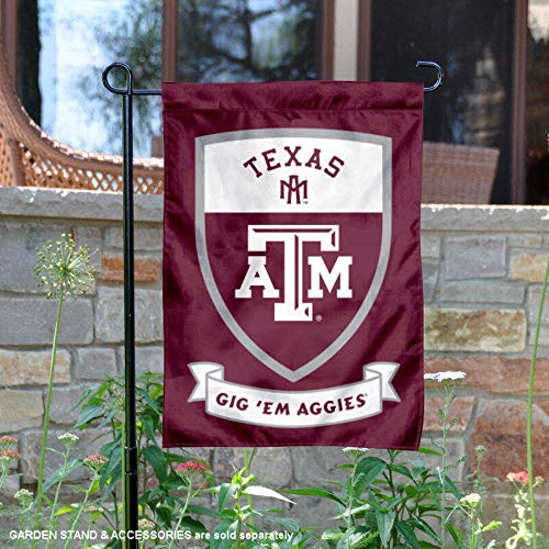 College Flags and Banners Co. Texas A&M Aggies Shield Garden Flag -