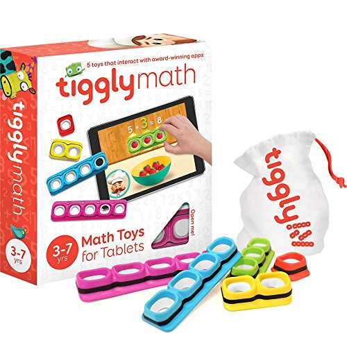 Tiggly Math Blocks Interactive Learning Games for Kids 3 to (Old Cool Math Games)