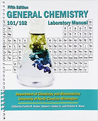 General chemistry chemistry 101102 laboratory manual north general chemistry chemistry 101102 laboratory manual 5th edition fandeluxe Image collections