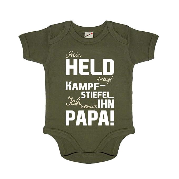 Baby Body Babystrampler Blanko Strampler Kleidung Kleinkind Säugling oliv #16928