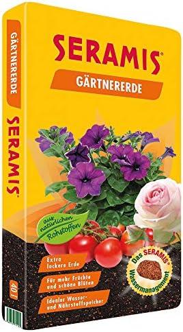 SERAMIS® 40 l GärtnererdeMit Seramis Pflanz-Granulat