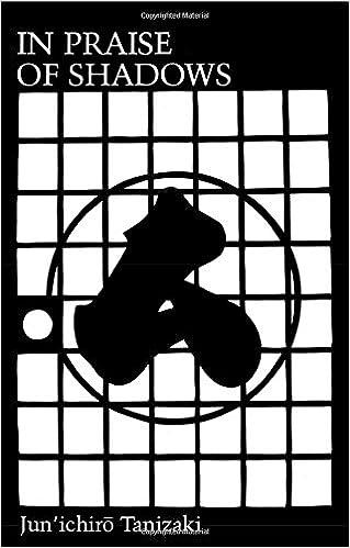 In Praise Of Shadows Junichiro Tanizaki 9780918172020 Amazon