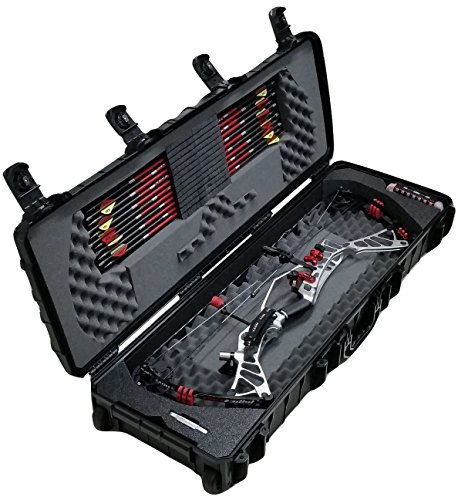 - Case Club Waterproof Parallel Limb Compound Bow Case with Silica Gel to Help Prevent Rust