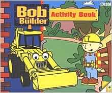 Amazon.com: Bob the Builder: Colour Puzzle Book ...