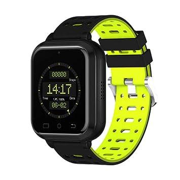 WSWJJXB Reloj Inteligente 4G Completa Netcom WiFi, la Utilidad del Monitor de frecuencia cardíaca Deportes de Bluetooth (Color : Green): Amazon.es: Hogar