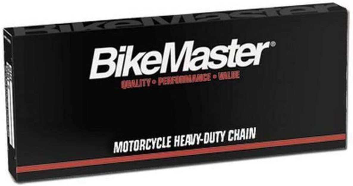 420H x 110 Natural BikeMaster 420H Heavy-Duty Precision Roller Motorcycle Chain