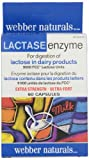 Webber Naturals Extra Strength Lactase Enzyme Capsule