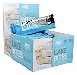 Optimum Nutrition Birthday Cake Bites Whipped Protein Snack Bar, 12 Count