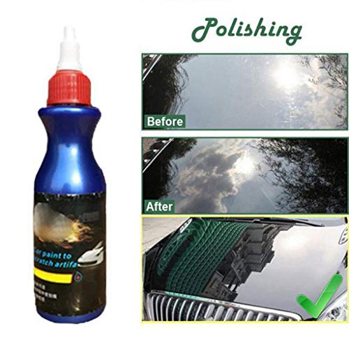 Car Scratch Remover,Car Paint Maintenance Wax Scratch Repair Remover Care Grinding Polish & Paint Restorer Liquid to Repair Vehicle ()