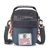 Men Messenger Bag Work Scratch Casual Bag Waterproof Shoulder Bag Crossbody New