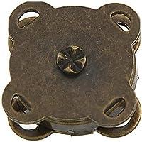 Trifycore 10 Piezas de Bronce Cosa en la Bolsa de Cierres magnéticos 15 mm es Ideal para Coser Ropa de Scrapbooking del Arte Bolsa