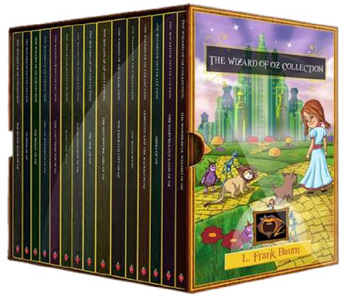 The Wizard of Oz Collection: The Wonderful Wizard of Oz, The Marvellous Land of Oz, Ozma of Oz, Dorothy and the Wizard in Oz, The Road to Oz, The Emerald City of Oz, Patchwork Girl of Oz and More