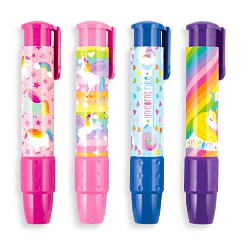 Ooly Click It Eraser - Clickable Pencil Erasers Set - Unique Unicorns by OOLY (Image #1)