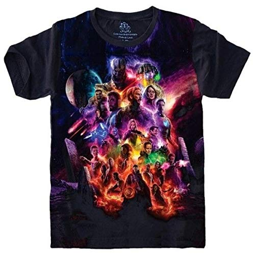 Camiseta Vingadores Avengers Gerra Infinita