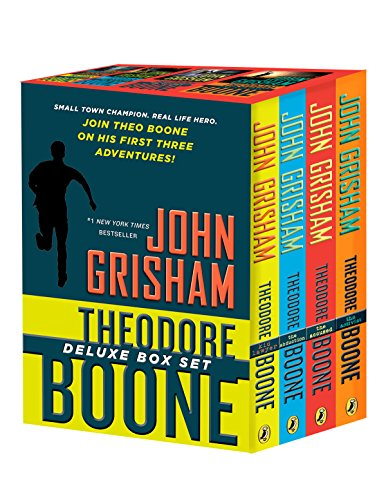 Book cover from Theodore Boone Box Set (Kid Lawyer / The Abduction / The Accused / The Activist)by John Grisham