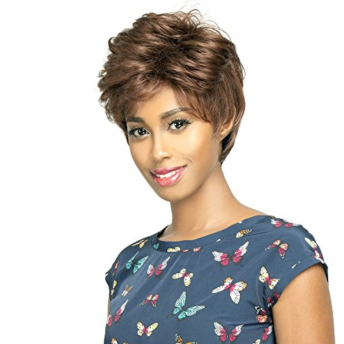 E-ANGELA (1 Jet Black) - R&B Collection Euro Tress Synthetic Feather Light Wig -
