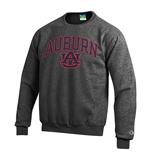 - Elite Fan Shop Auburn Tigers Crewneck Sweatshirt Varsity Charcoal - L
