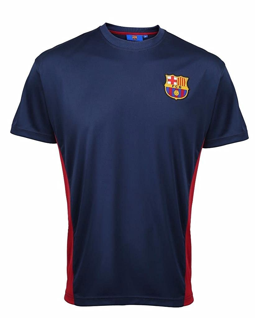 Kids Official Barcelona F.C Personalised Gift Boxed Football Shirt Red 8-9 Years FD4792P4