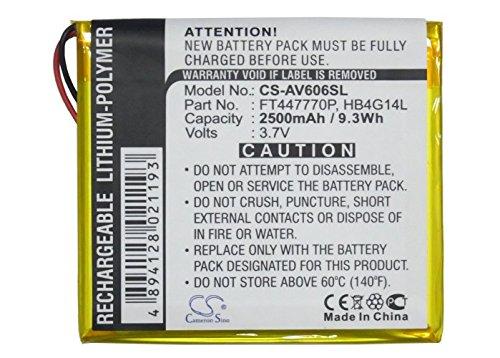 MP3 MP4 PMP Battery for Archos FT447770P AV605 WiFi 605 GPS 4GB AV605 WiFi 605 GPS 30GB AV605 80GB AV605 120GB ()