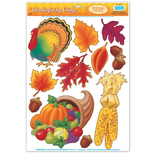 Thanksgiving Clings Party Accessory count
