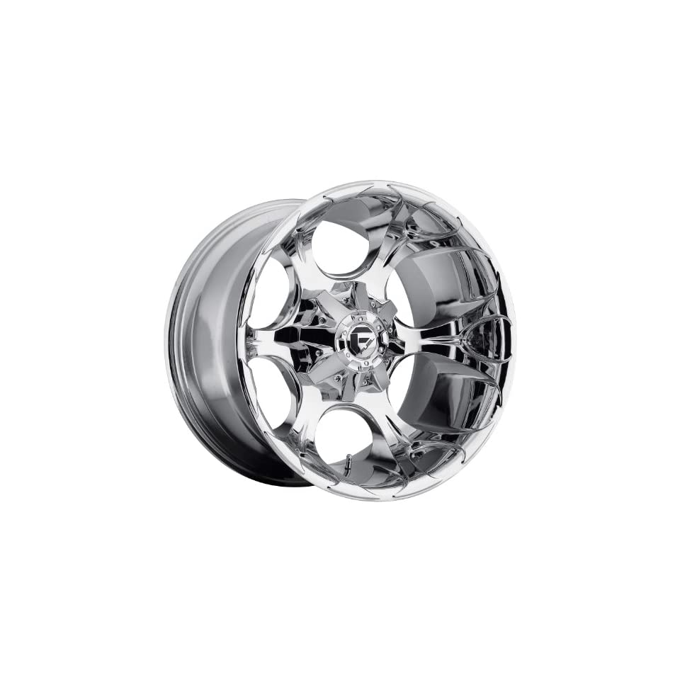 Fuel Dune 20x12 Chrome Wheel / Rim 8x6.5 with a  44mm Offset and a 125.20 Hub Bore. Partnumber D52220208247