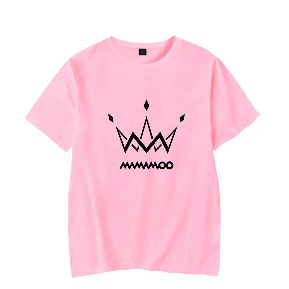 zhanguangliang MAMAMOO Korean Popular Womens Group Urban Fashion Casual Short Sleeves
