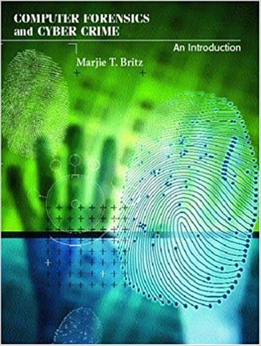 Book Computer Forensics and Cyber Crime: An Introduction
