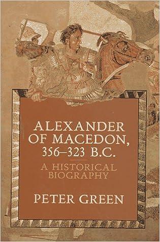 Alexander of Macedon 356-323 B.C.: A Historical Biography: Green, Peter:  9780520071667: Amazon.com: Books