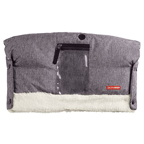 Skip Hop Stroll-and-Go Three-Season Hand Muff, One Size, Heather Grey by Skip Hop (Image #5)