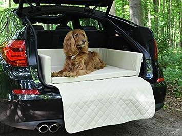 Auto ya - Manta para maletero - Techo - Auto - Cama para perros en beige piel sintética: Amazon.es: Productos para mascotas