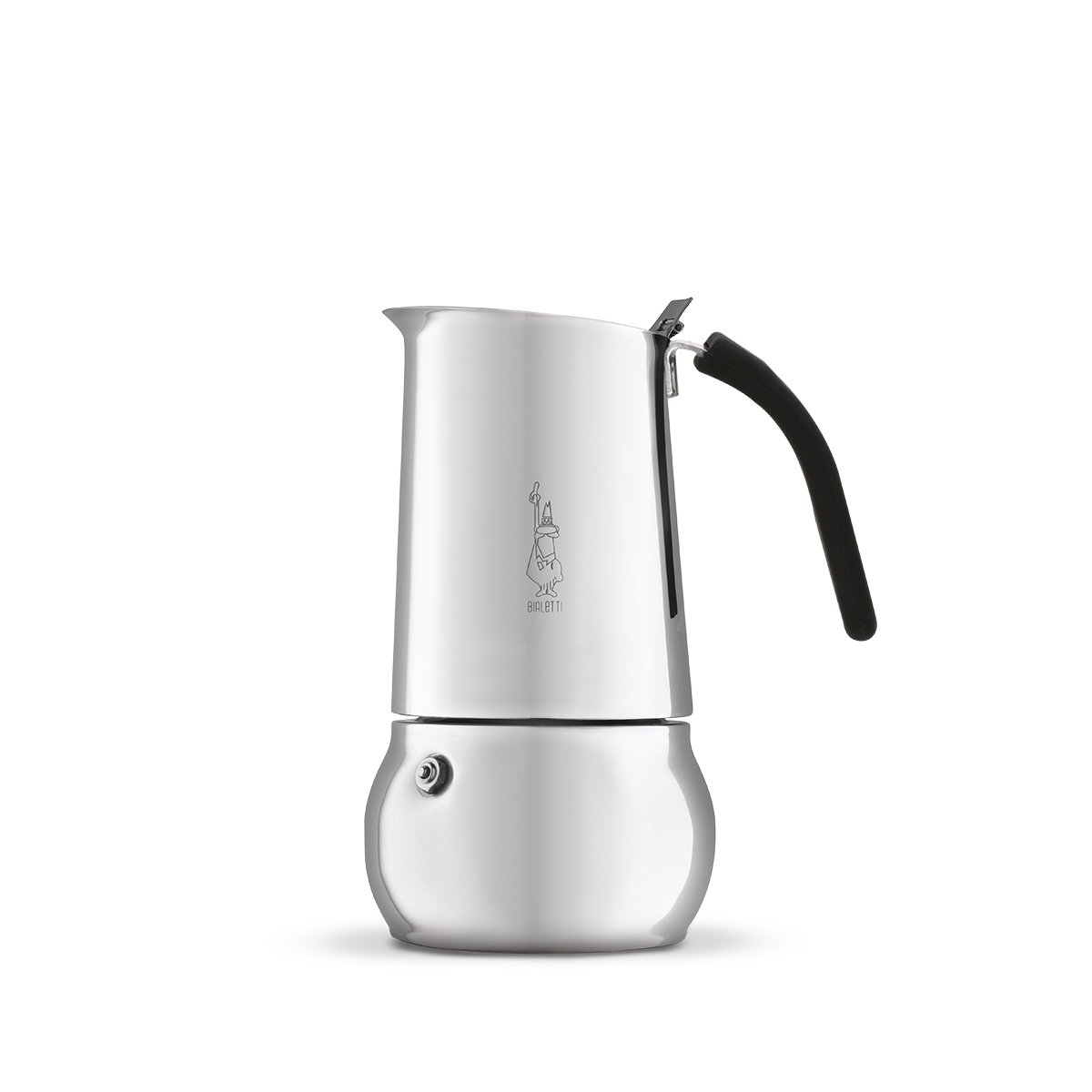 Bialetti Kitty Coffee Maker, Stainless Steel, 4-Cup(8 oz) (06660)