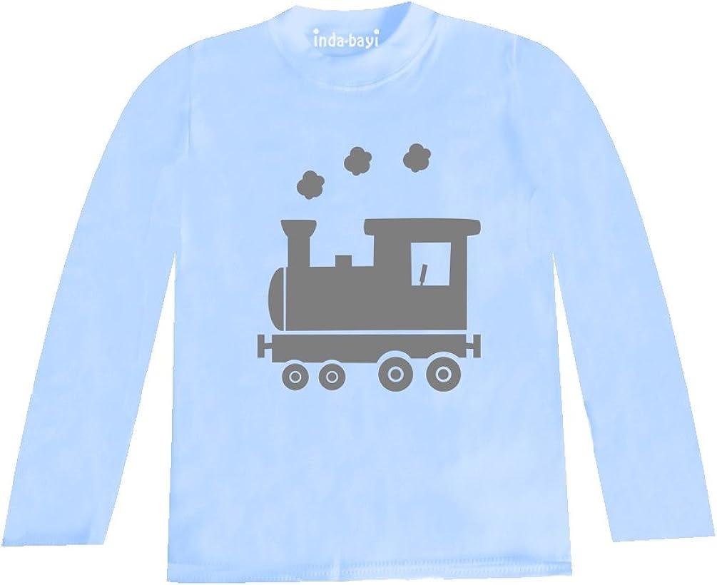 Train Inda-Bayi Baby-Toddler-Kids Cotton Long Sleeve T Shirt