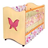 Room Magic RM05-MG 4 Piece Crib Set, Magic Garden