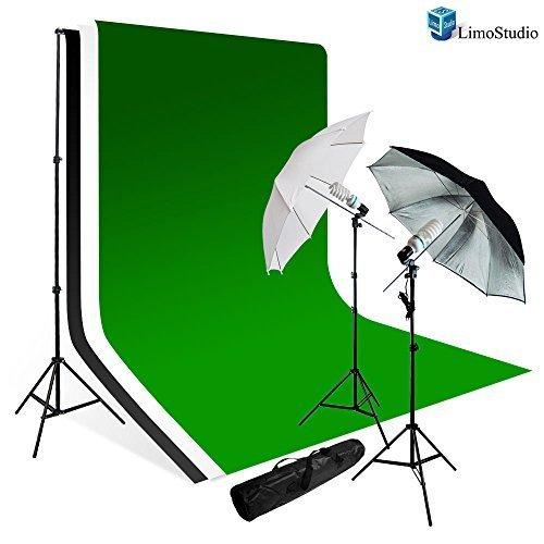 LimoStudio 700 W fotografía luz foto Video Studio Umbrella Kit de iluminación: Amazon.es: Electrónica