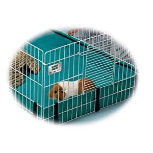 Small Pet Cage Expanding Large Hamster Rat House Rabbit Guinea Pig Habitat Ramp