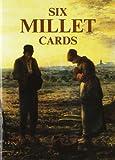 Six Millet Cards, Jean-Francois Millet, 0486419908