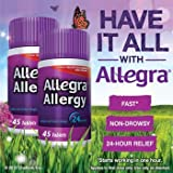 Allegra Allergy - 45 Tablets (180 mg each) x 2 (Pack of 3 (2 ct ea))