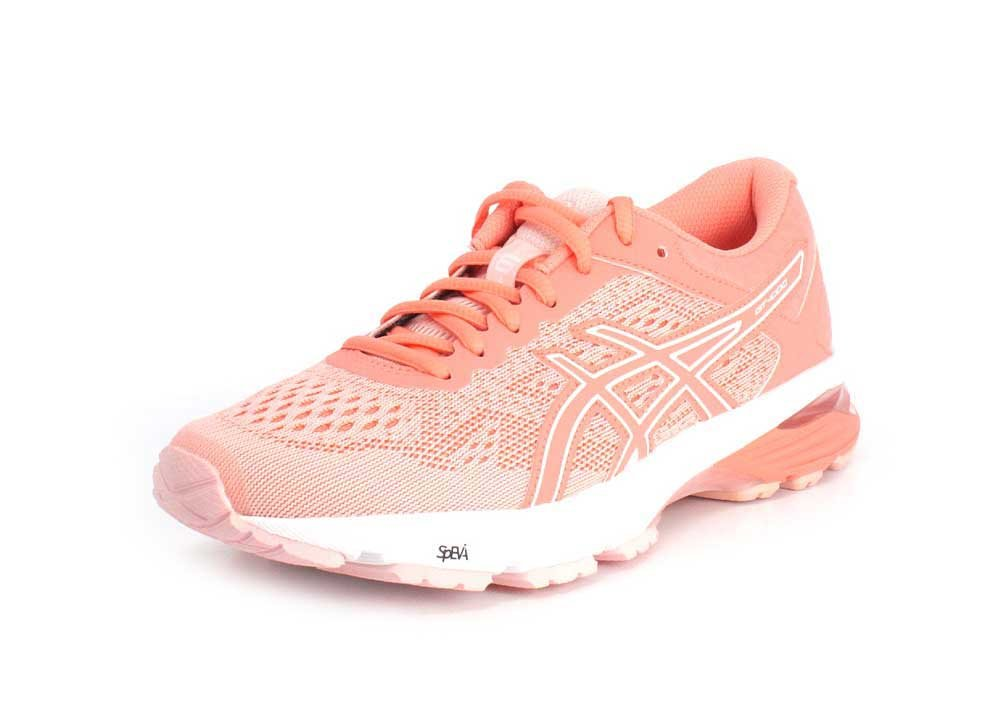 ASICS Women's GT-1000 6 Running Shoe B071VS862X 11 B(M) US|Seashell Pink/Begonia Pink/White