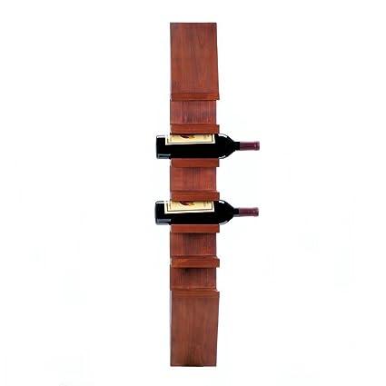 Vino rack para pared, único rústico decorativo Vintage vino ...