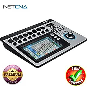 touchmix 8 compact digital mixer with touchscreen with free 3 feet netcna hdmi cable. Black Bedroom Furniture Sets. Home Design Ideas