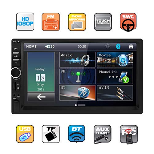 Double Din Car Stereo in Dash
